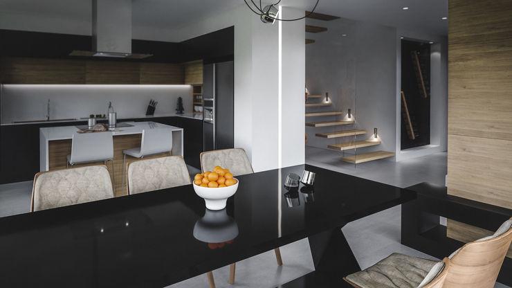 cocina casa vega Adrede Arquitectura Cocinas modernas