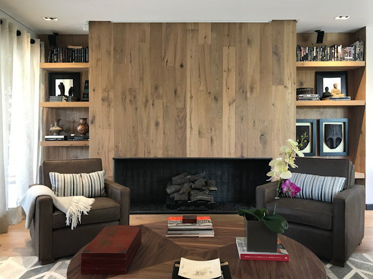Ecologik Eclectic style living room Wood Brown