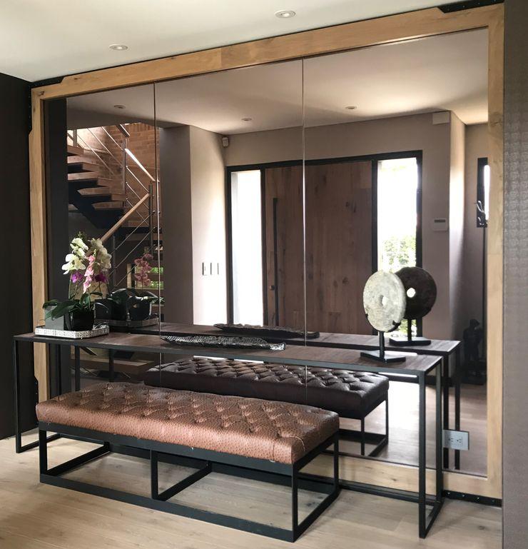 Ecologik Eclectic style corridor, hallway & stairs Brown