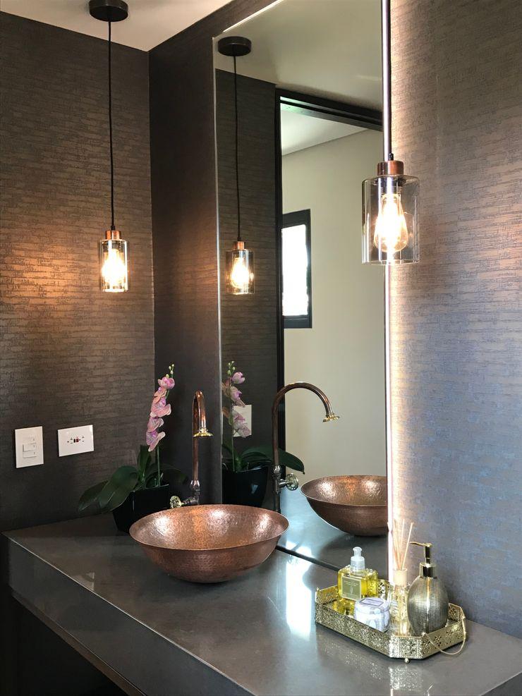 Ecologik Eclectic style bathroom Brown