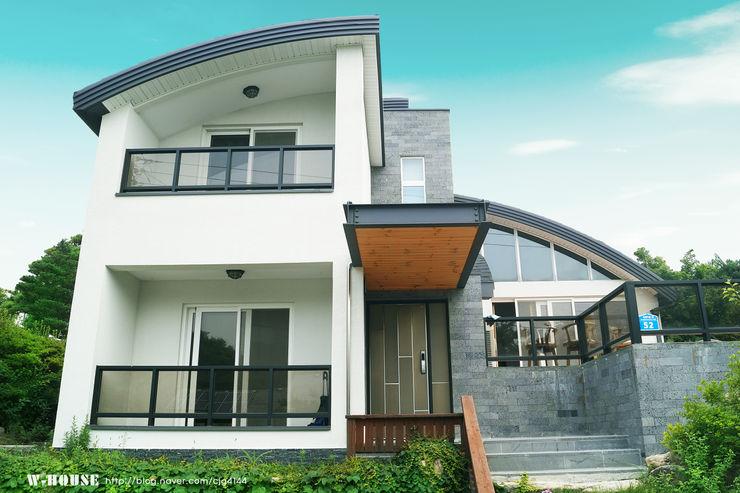 W-HOUSE Landhaus Beton Mehrfarbig