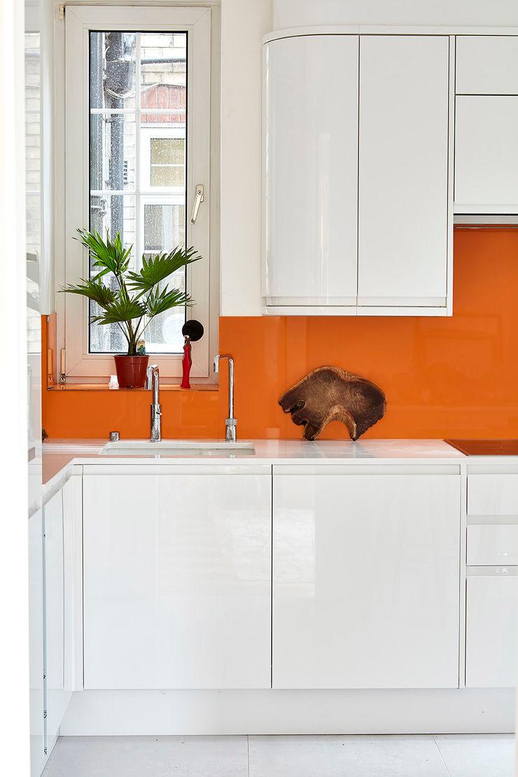 Highgate Home Refurbishment Patience Designs Studio Ltd مطبخ