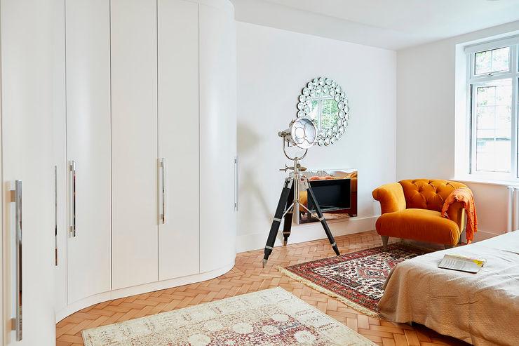 Highgate Home Refurbishment Patience Designs Studio Ltd غرفة نوم