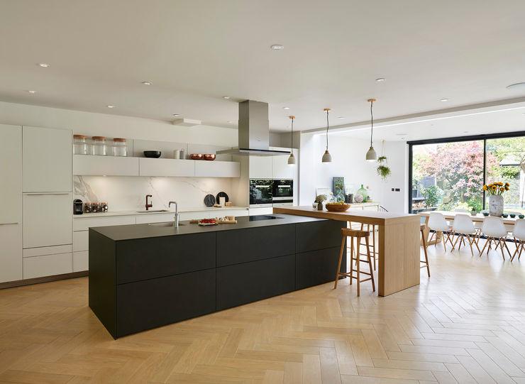 Combined elegance Kitchen Architecture Modern kitchen