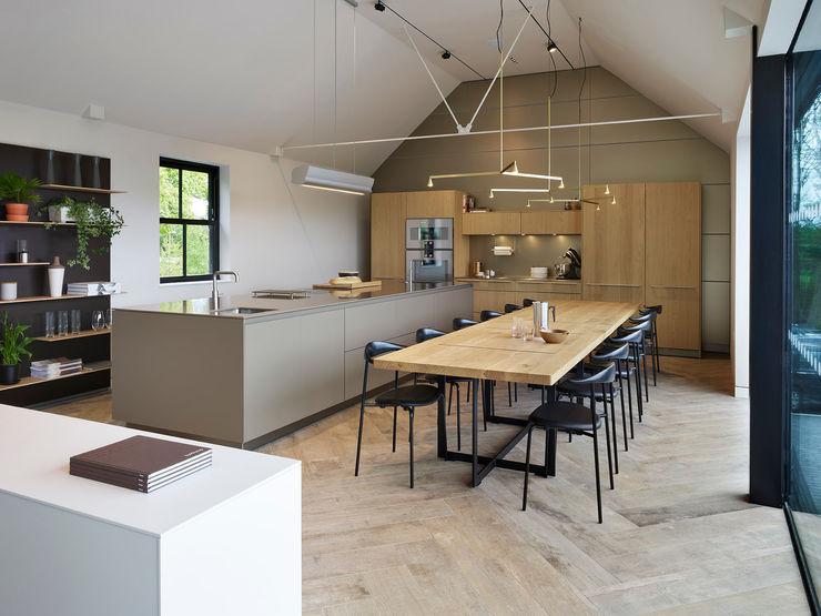 Cheshire Showroom Kitchen Architecture Modern kitchen