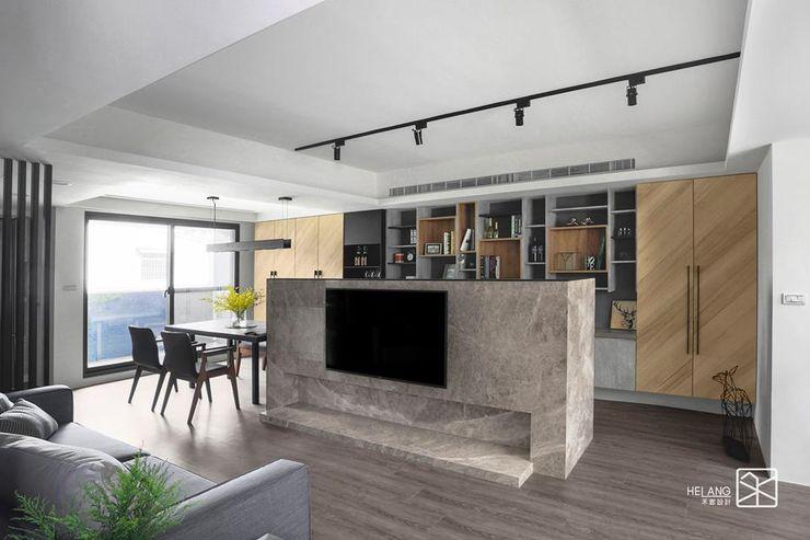 電視牆 禾廊室內設計 Living room