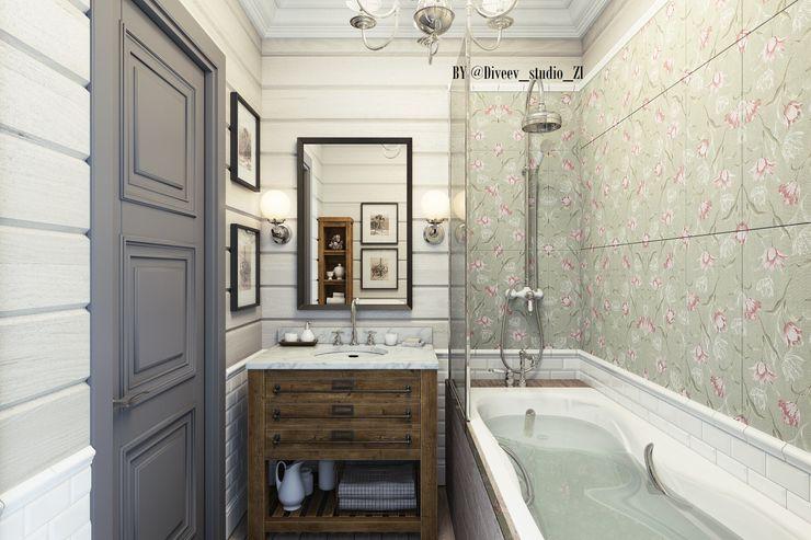 Ванная комната Diveev_studio#ZI Ванная в классическом стиле
