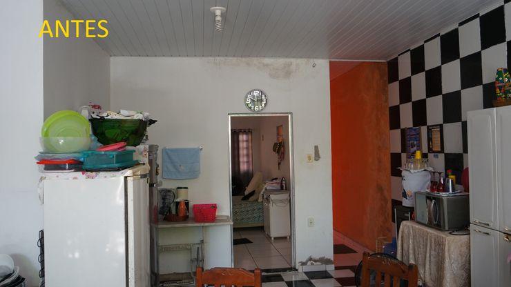 A cozinha antes 2. Reinaldo Pampolha Arquitetura