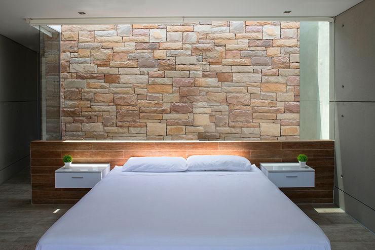 CASA TERRAZA Chetecortés Dormitorios de estilo moderno