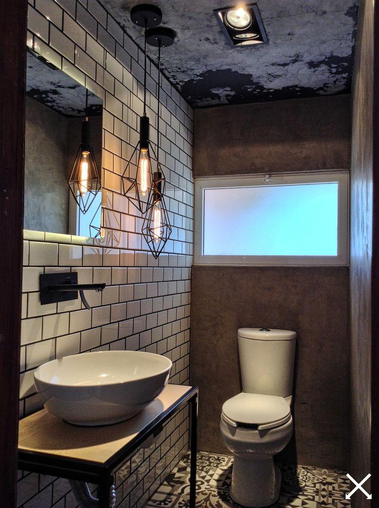 anarqhy anti - diseño Ванная комната в стиле модерн