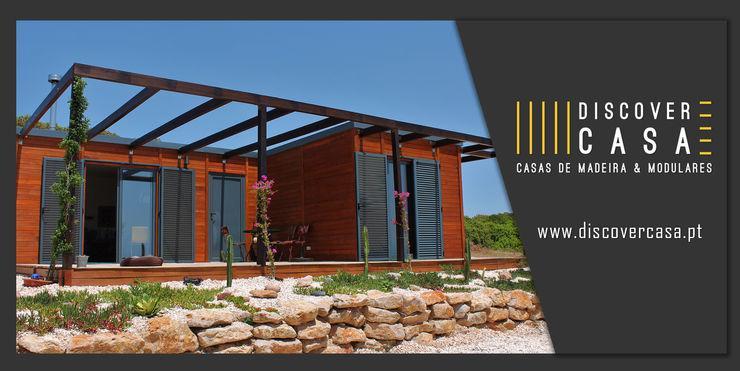 Discovercasa   Casas de Madeira & Modulares Casas prefabricadas Madera Marrón