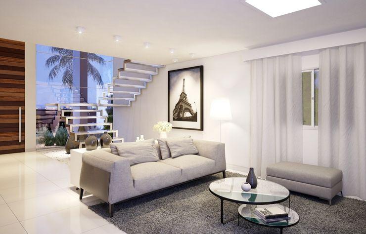 Sala Camila Pimenta   Arquitetura + Interiores CasaAcessórios e Decoração Branco