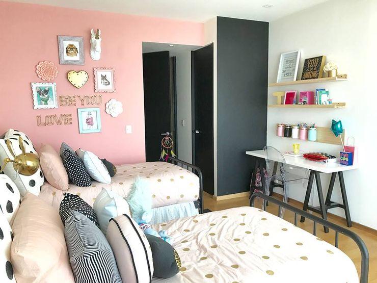 Dormitorio Franko & Co Franko & Co. Dormitorios infantiles modernos Rosa