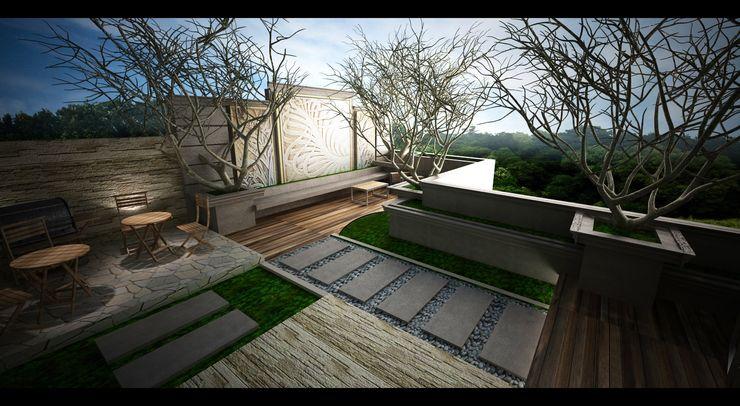 Roof Garden Lighthouse Architect Indonesia Taman Klasik