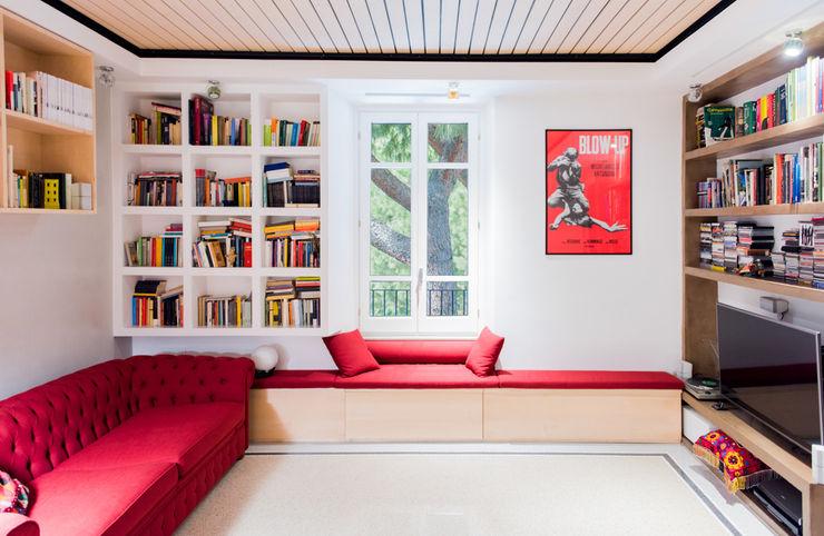 Soggiorno VITAE Studio Architettura Soggiorno moderno