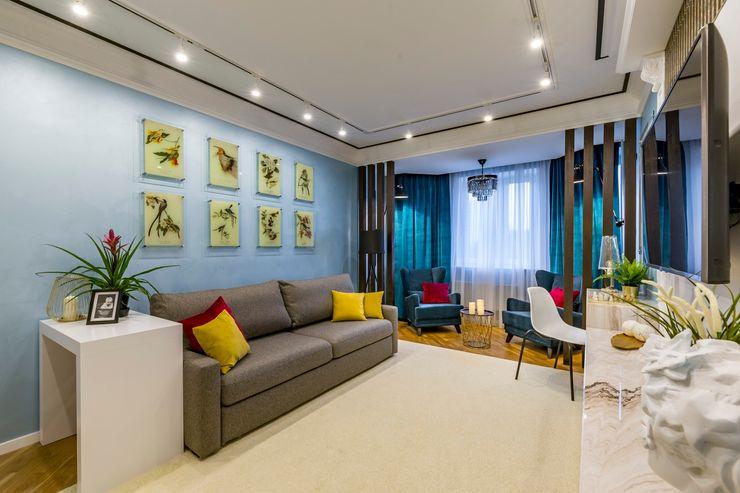 Школа Ремонта Modern Living Room