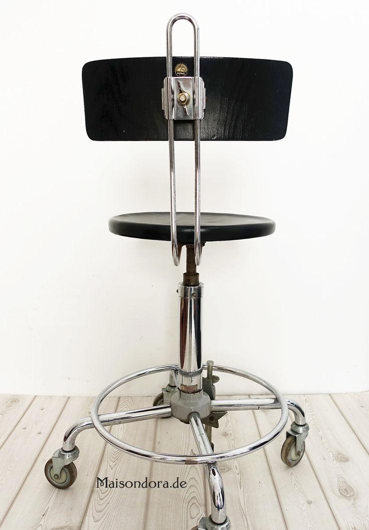 Maisondora Vintage Living Study/officeChairs Metal Black