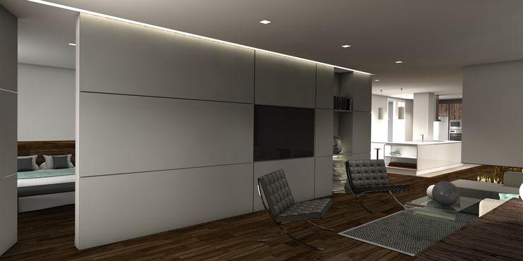 Interiorismo Conceptual estudio Modern style bedroom