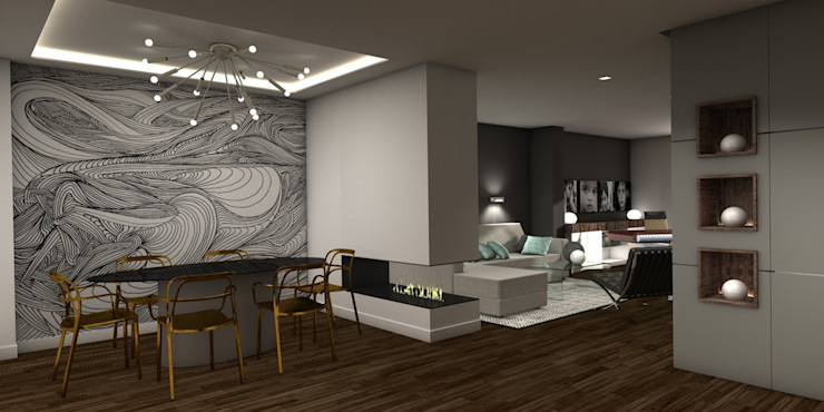 Interiorismo Conceptual estudio Modern dining room