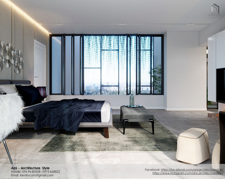 AnS - Architecture Style Modern style bedroom