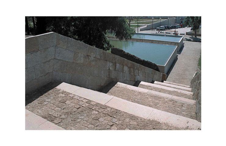 Jardim da Corredoura, Portalegre, Portugal Margem Arquitectura Paisagista Lda Jardins mediterrânicos