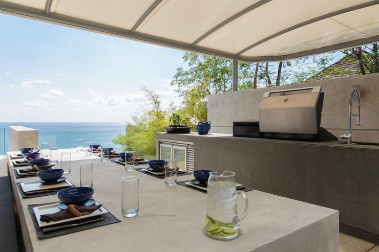 Original Vision Modern balcony, veranda & terrace
