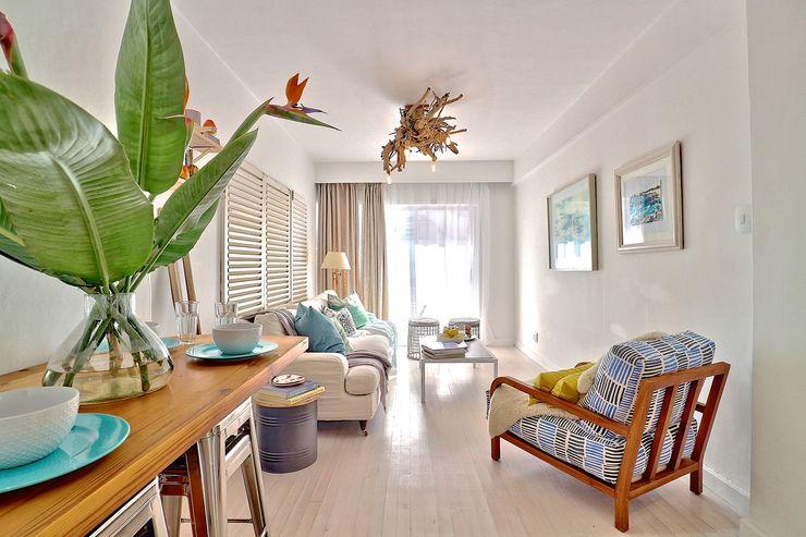 Beach Retreat apartment Studio Do Cabo Living room