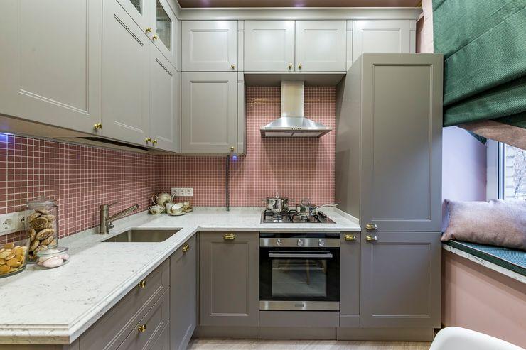 Школа Ремонта Built-in kitchens