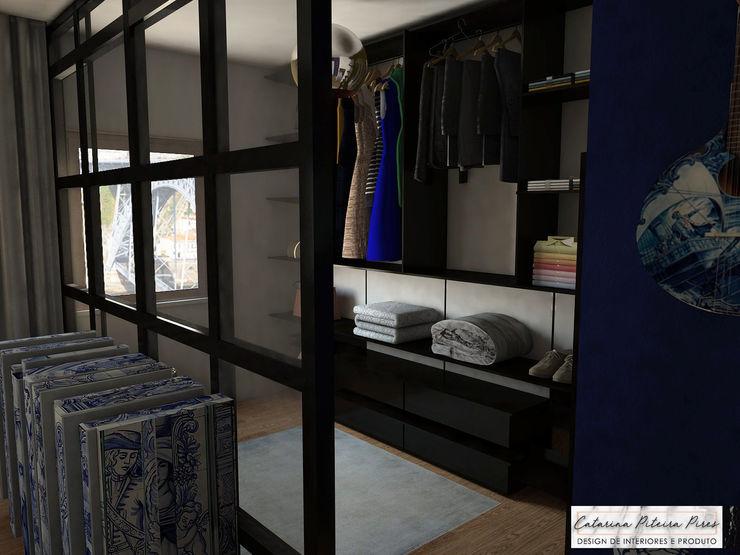 Suite Showroom - Douro Boutique Catarina Piteira Pires - Design de interiores e de produto Closets industriais Metal Preto