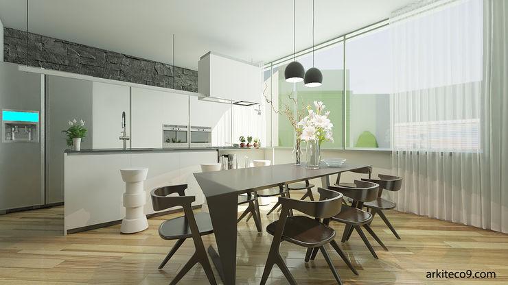 arquitecto9.com Кухня