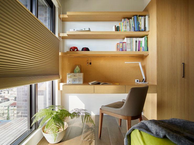 小孩房 樸十設計有限公司 SIMPURE Design Modern style bedroom