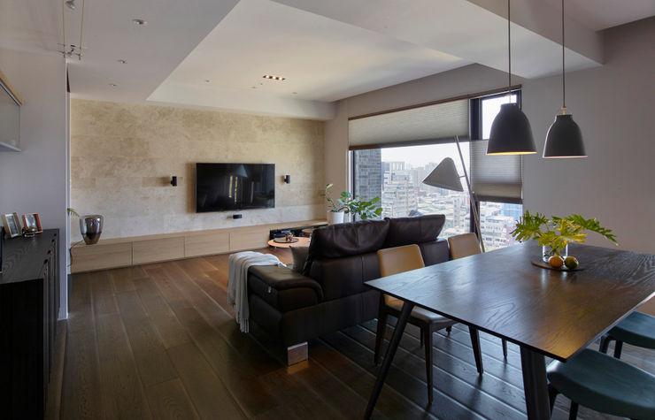 客餐廳 樸十設計有限公司 SIMPURE Design Modern dining room