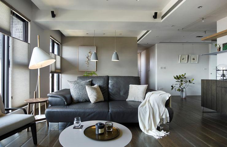 客廳 樸十設計有限公司 SIMPURE Design Modern living room