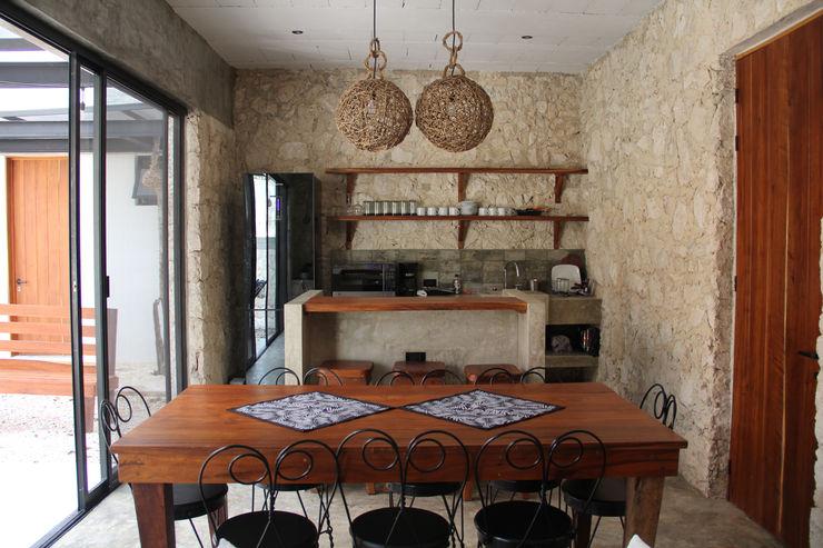 Villa Cherie CO-TA ARQUITECTURA Cocinas rústicas