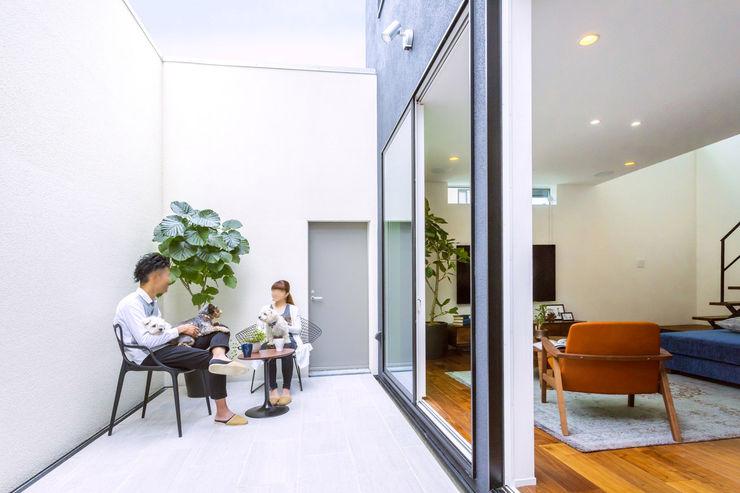 T House 85inc. バルコニー&ベランダ&テラス家具 プラスティック 黒色