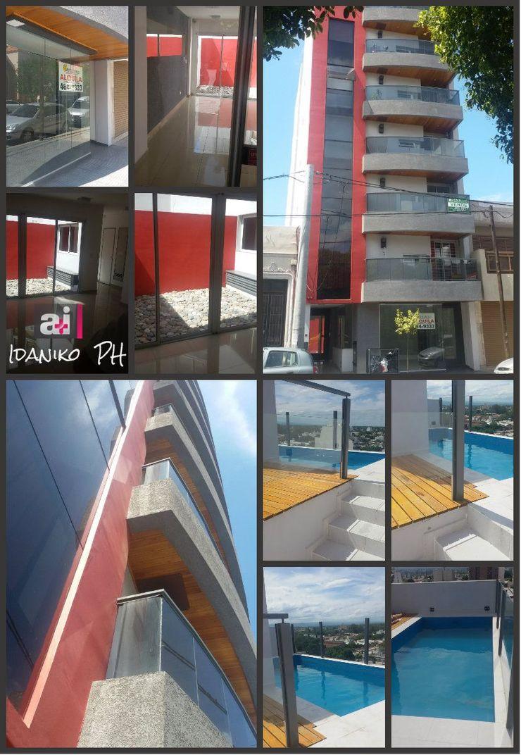 Edificio Idánico Estudio A+I Casas adosadas