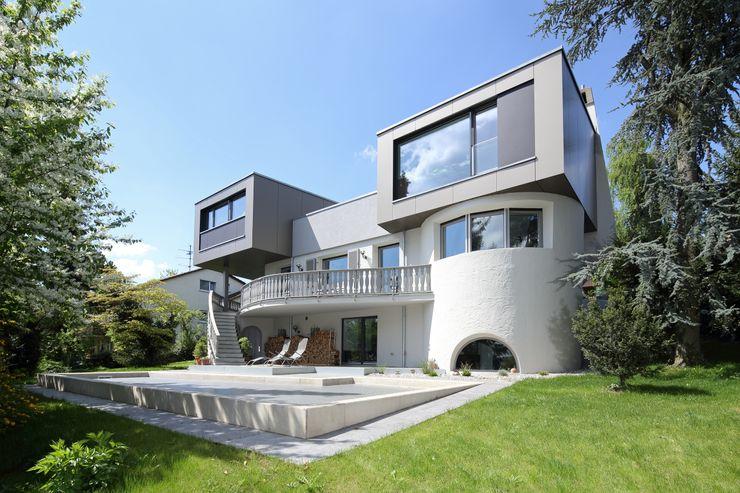 Wohnhaus L Architekturbüro zwo P Moderne Häuser