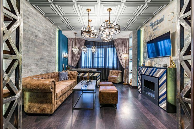 Школа Ремонта Living room