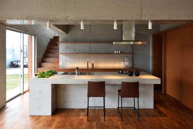 プラソ建築設計事務所 모던스타일 주방