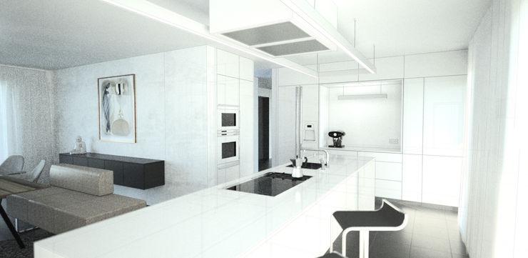 Visualisierung Küche habes-architektur