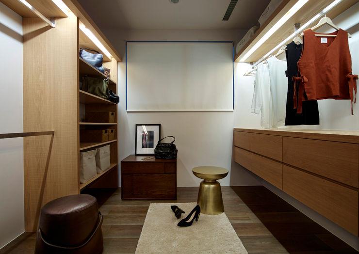 更衣間 樸十設計有限公司 SIMPURE Design Modern dressing room