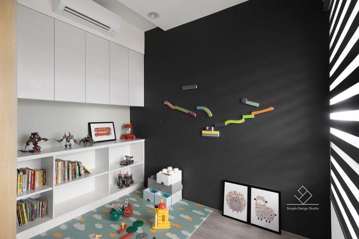 遊戲房設計 極簡室內設計 Simple Design Studio 嬰兒房/兒童房