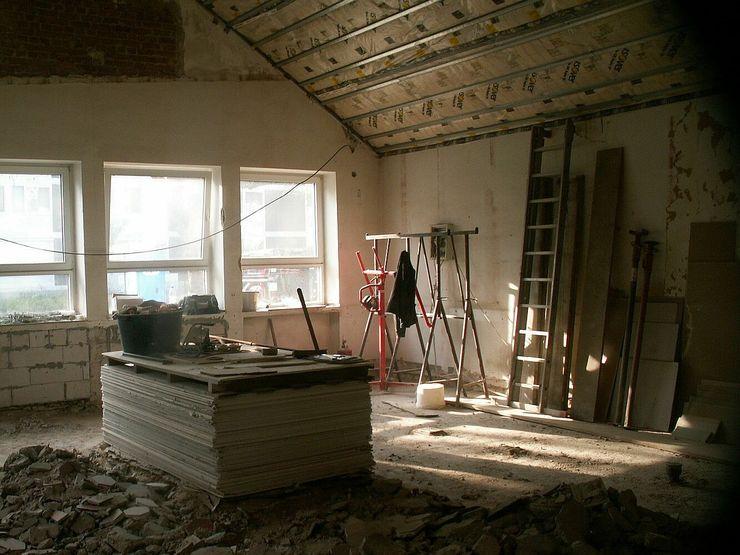 Bauphase Waschhaus schüller.innenarchitektur