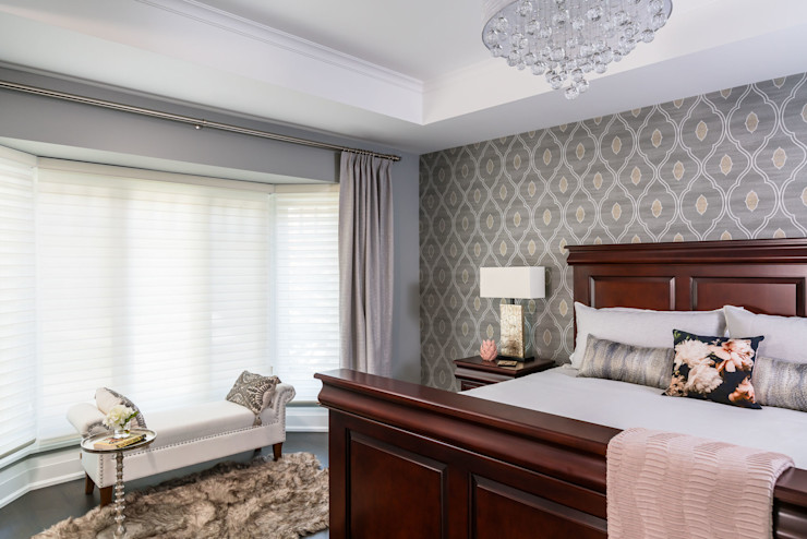 Master Bedroom Frahm Interiors Classic style bedroom