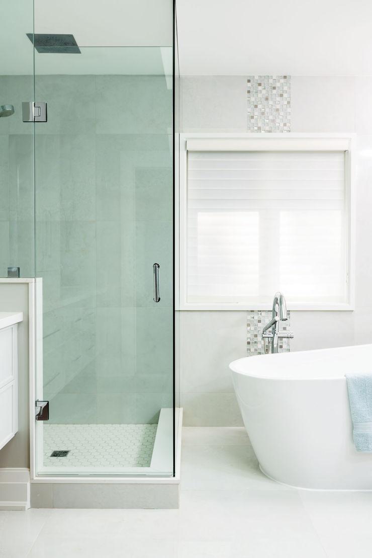Modern spa bathroom Frahm Interiors Modern Bathroom Grey