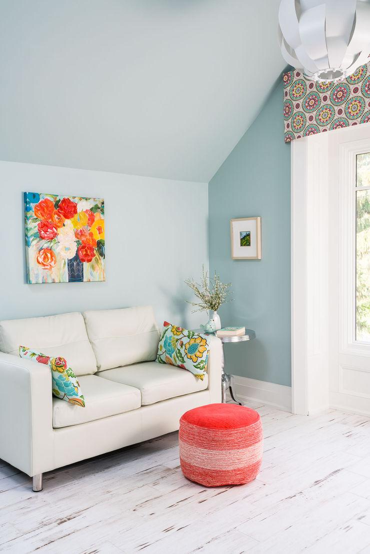 Colourful Sitting Room Frahm Interiors Modern Living Room
