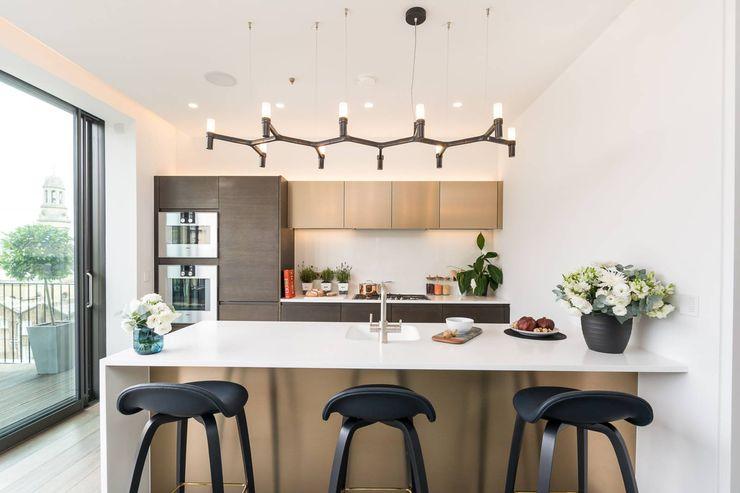 Attico a Bologna GIOInterni Cucina moderna