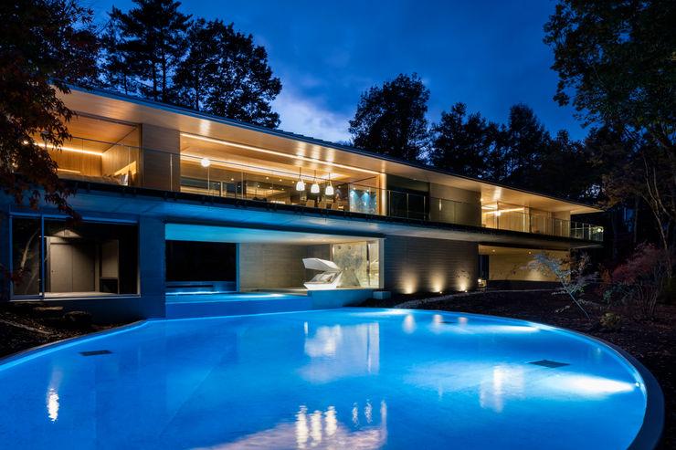 Mアーキテクツ|高級邸宅 豪邸 注文住宅 別荘建築 LUXURY HOUSES | M-architects Modern houses Concrete Wood effect
