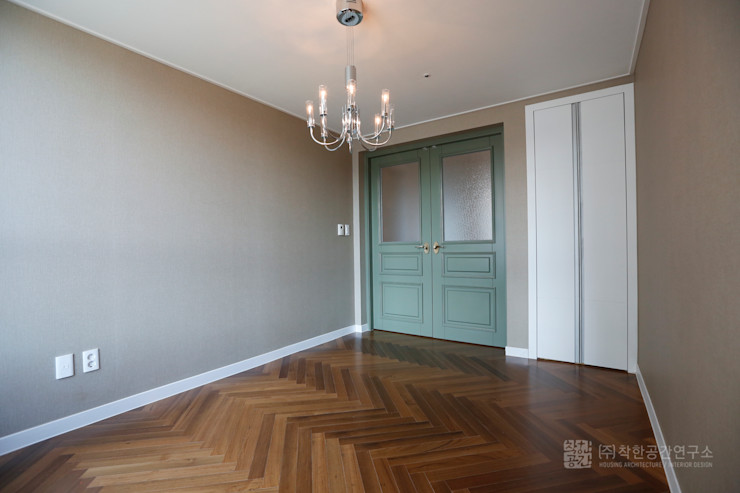 주식회사 착한공간연구소 Media room Wood Multicolored