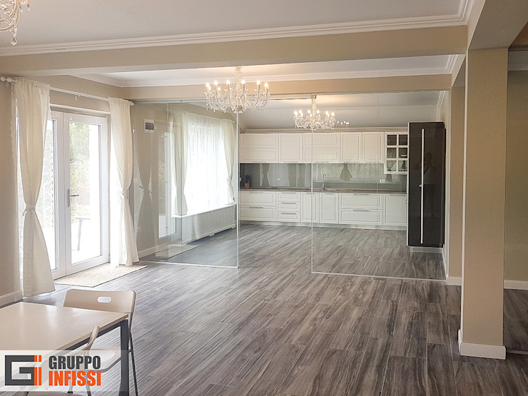 Gruppo Infissi Modern walls & floors Glass